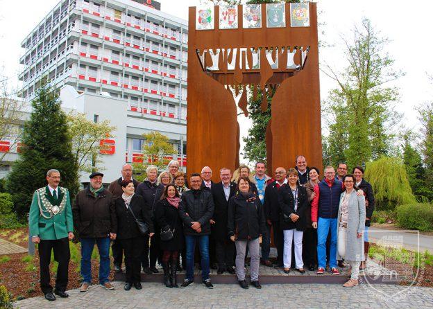 Die amtierenden Majestäten aus dem Grevenbroicher Stadtgebiet beim Turmfest 2016.