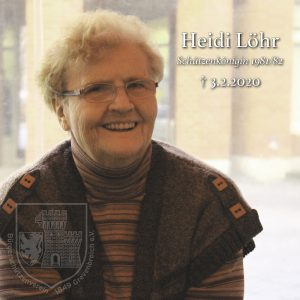 Heidi Löhr, Schützenkönigin 1981/82