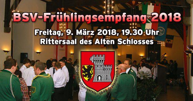 Einladung zum Frühlingsempfang 2018