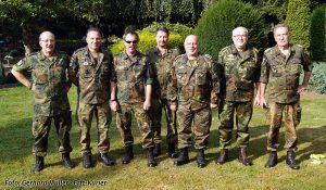 Die Grevenbroicher Reservisten halfen ebenfalls bei der Restauration. Foto: Gerhard Müller