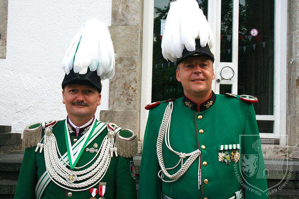 Jägermajor und Adjutant 2011