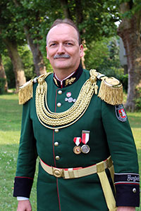 Oberst und Regimentskommandeur Stefan Sürth