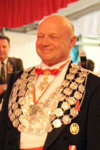 Schützenkönig Dieter II. Minkenberg