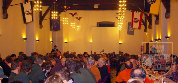 Foto der Jahreshauptversammlung 2007 im Rittersaal
