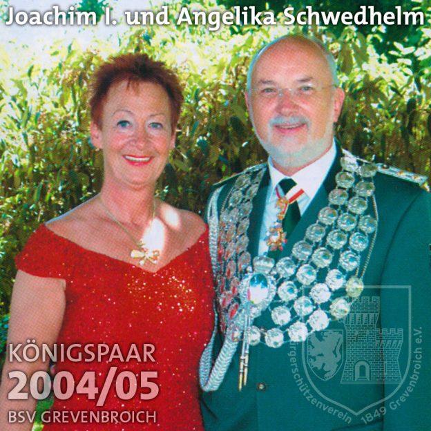 Schützenkönigspaar 2004/05: Joachim I. und Angelika Schwedhelm