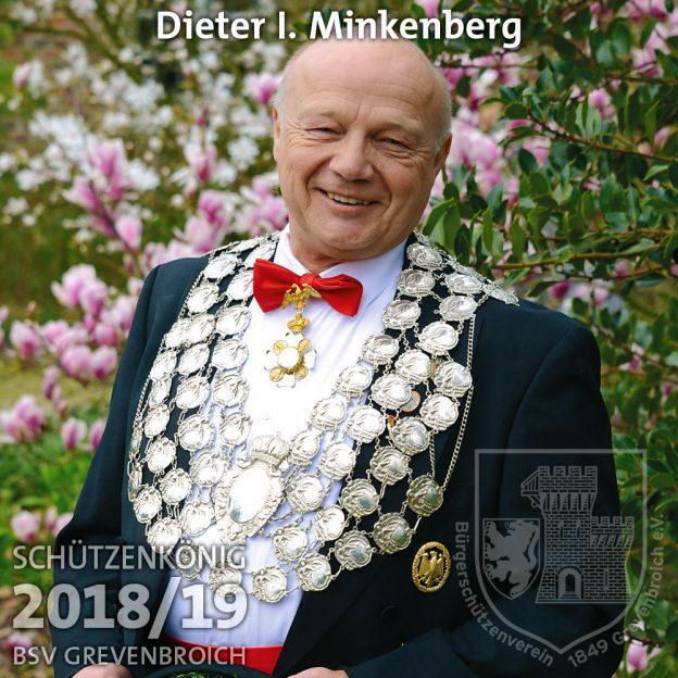 Schützenkönig 2018/19: Dieter II. Minkenberg