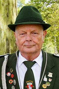 Fackelbaubetreuer Josef Flesch.