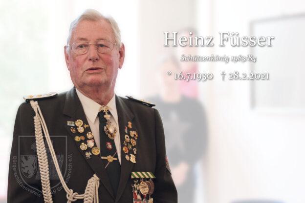 Nachruf Heinz Füsser