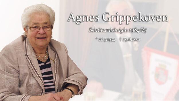Nachruf Agnes Grippekoven