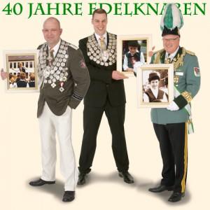 Christoph Oberbach, Franz-Josef Esser und Robert Hoppe - drei Persönlichkeiten aus den Reihen der ehemaligen Edelknaben.