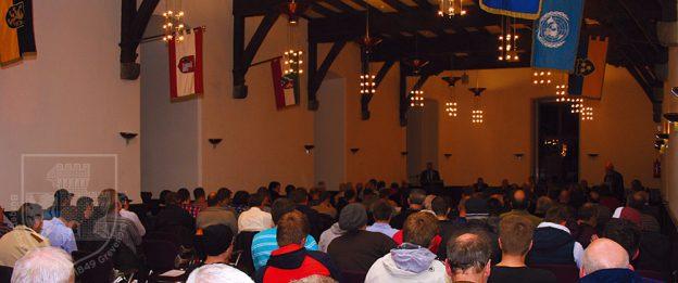 BSV-Versammlung im Rittersaal