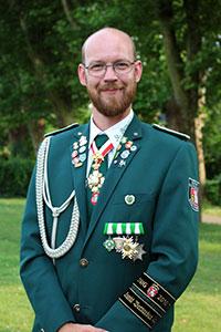 Edelknabenbetreuer Axel Holzhausen