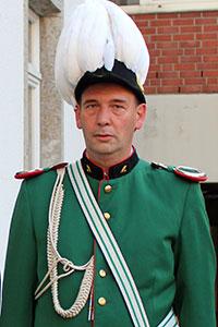 Jägermajoradjutant Berthold Holz
